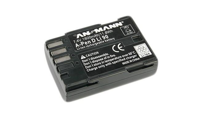 Ansmann akumulators (Pentax D-LI90, 1600mAh)