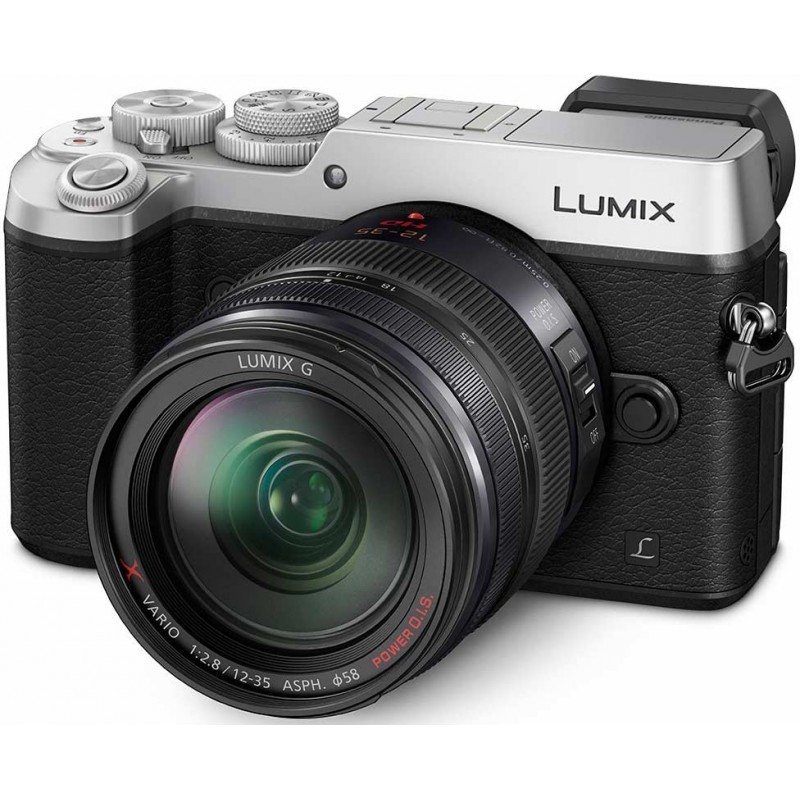 Panasonic Lumix DMC-GX8 + 12-35мм Kit, серебристый