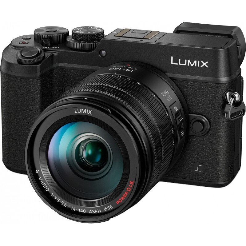 Panasonic Lumix DMC-GX8 + 14-140мм Kit, черный