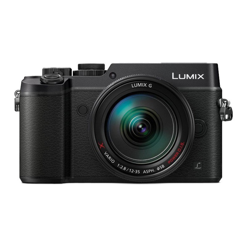 Panasonic Lumix DMC-GX8 + 12-35мм Kit, черный