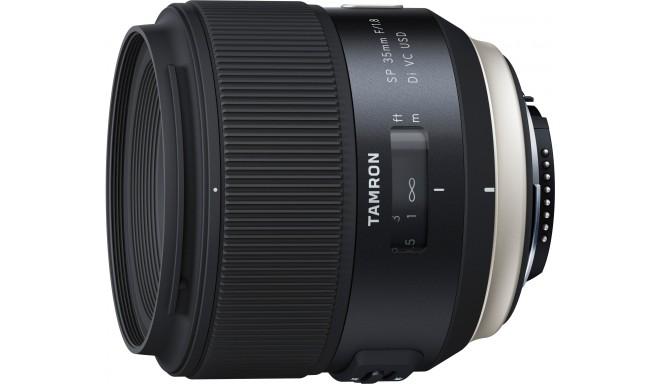 Tamron SP 35mm f/1.8 Di VC USD objektiiv Nikonile